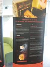 Actieweek Gezond Binnen Inspirerend Voorbeeld Torhout - Tentoonstellingsbanner Hout verbranden