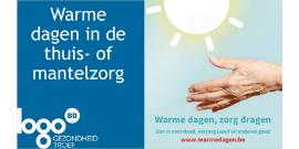 Webinar Warme Dagen in de thuis- en mantelzorg